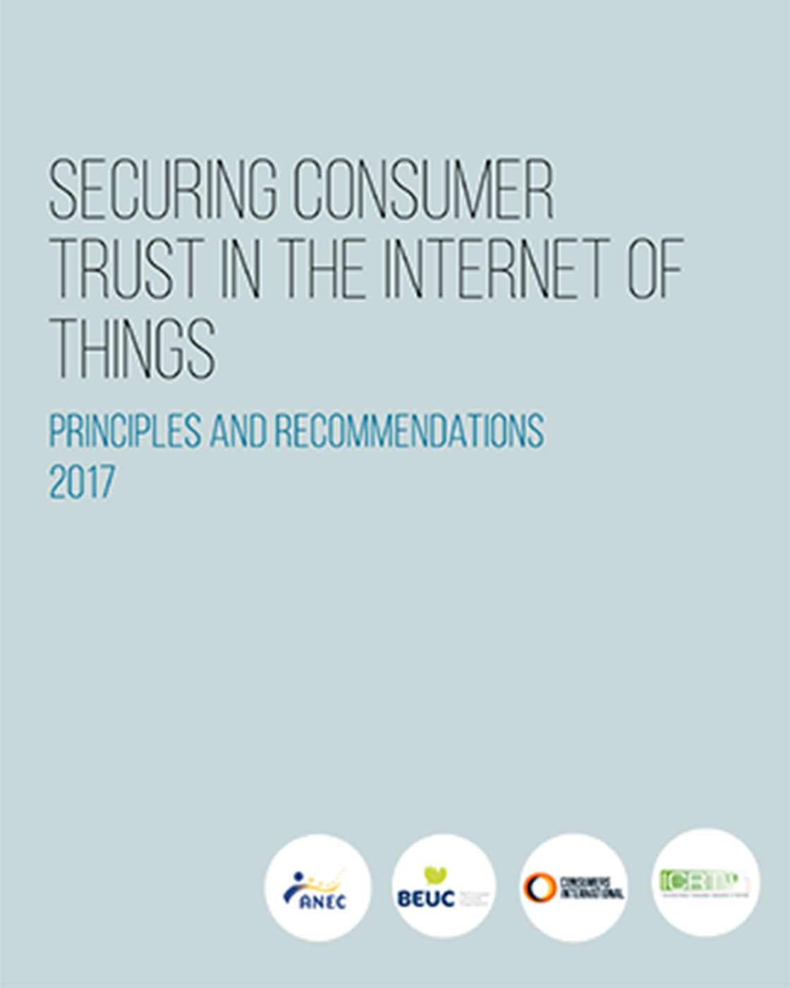 World Consumer Rights Day 2019 - Trusted Smart Products